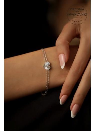 Swarovski Bileklik Gümüş